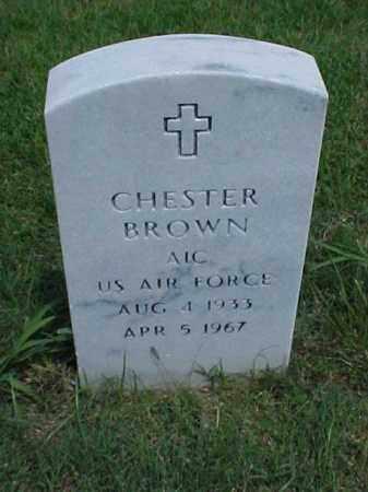 BROWN (VETERAN), CHESTER - Pulaski County, Arkansas | CHESTER BROWN (VETERAN) - Arkansas Gravestone Photos