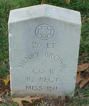 BROWN (VETERAN CSA), HENRY - Pulaski County, Arkansas | HENRY BROWN (VETERAN CSA) - Arkansas Gravestone Photos