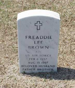 BROWN (VETERAN), FREADDIE LEE - Pulaski County, Arkansas | FREADDIE LEE BROWN (VETERAN) - Arkansas Gravestone Photos