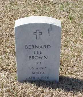 BROWN (VETERAN KOR), BERNARD LEE - Pulaski County, Arkansas | BERNARD LEE BROWN (VETERAN KOR) - Arkansas Gravestone Photos