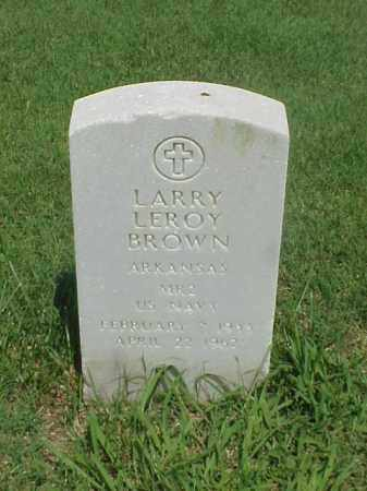 BROWN (VETERAN), LARRY LEROY - Pulaski County, Arkansas | LARRY LEROY BROWN (VETERAN) - Arkansas Gravestone Photos
