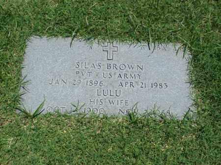 BROWN (VETERAN), SILAS - Pulaski County, Arkansas | SILAS BROWN (VETERAN) - Arkansas Gravestone Photos