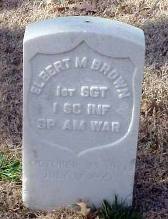 BROWN (VETERAN SAW), ELBERT M - Pulaski County, Arkansas | ELBERT M BROWN (VETERAN SAW) - Arkansas Gravestone Photos