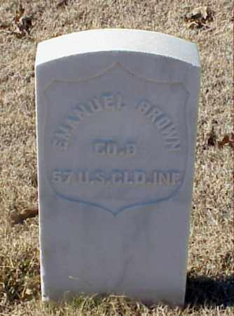 BROWN (VETERAN UNION), EMANUEL - Pulaski County, Arkansas | EMANUEL BROWN (VETERAN UNION) - Arkansas Gravestone Photos