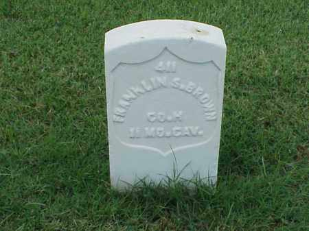 BROWN (VETERAN UNION), FRANKLIN S - Pulaski County, Arkansas | FRANKLIN S BROWN (VETERAN UNION) - Arkansas Gravestone Photos