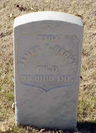 BROWN (VETERAN UNION), JAMES F - Pulaski County, Arkansas | JAMES F BROWN (VETERAN UNION) - Arkansas Gravestone Photos