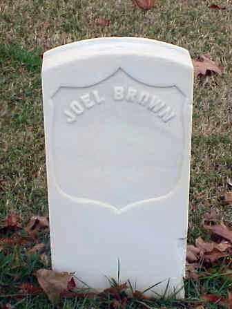 BROWN (VETERAN UNION), JOEL - Pulaski County, Arkansas | JOEL BROWN (VETERAN UNION) - Arkansas Gravestone Photos