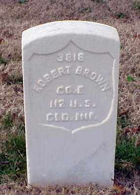 BROWN (VETERAN UNION), ROBERT - Pulaski County, Arkansas | ROBERT BROWN (VETERAN UNION) - Arkansas Gravestone Photos