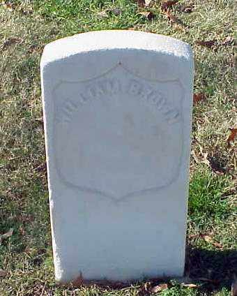 BROWN (VETERAN UNION), WILLIAM - Pulaski County, Arkansas | WILLIAM BROWN (VETERAN UNION) - Arkansas Gravestone Photos