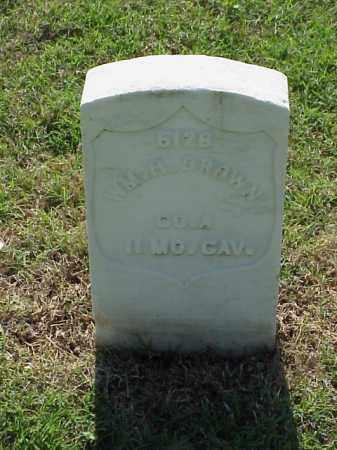 BROWN (VETERAN UNION), WILLIAM H - Pulaski County, Arkansas | WILLIAM H BROWN (VETERAN UNION) - Arkansas Gravestone Photos