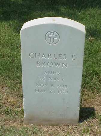 BROWN (VETERAN VIET), CHARLES EDWARD - Pulaski County, Arkansas | CHARLES EDWARD BROWN (VETERAN VIET) - Arkansas Gravestone Photos