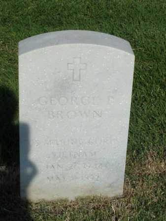 BROWN (VETERAN VIET), GEORGE P - Pulaski County, Arkansas | GEORGE P BROWN (VETERAN VIET) - Arkansas Gravestone Photos