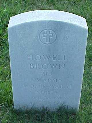 BROWN (VETERAN VIET), HOWELL - Pulaski County, Arkansas | HOWELL BROWN (VETERAN VIET) - Arkansas Gravestone Photos