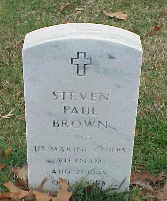 BROWN (VETERAN VIET), STEVEN PAUL - Pulaski County, Arkansas | STEVEN PAUL BROWN (VETERAN VIET) - Arkansas Gravestone Photos