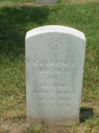 BROWN (VETERAN WWI), CLARENCE - Pulaski County, Arkansas | CLARENCE BROWN (VETERAN WWI) - Arkansas Gravestone Photos