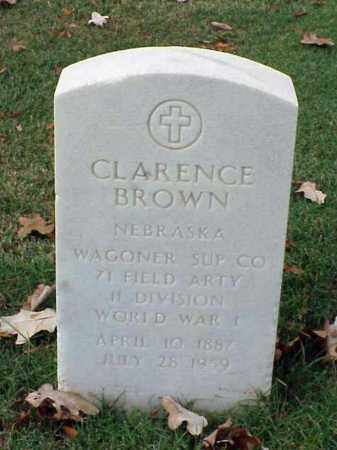 BROWN (VETERAN WWI), CLARENCE - Pulaski County, Arkansas | CLARENCE BROWN (VETERAN WWI) - Arkansas Gravestone Photos