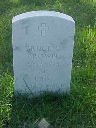 BROWN (VETERAN WWII), BRUCE C - Pulaski County, Arkansas | BRUCE C BROWN (VETERAN WWII) - Arkansas Gravestone Photos