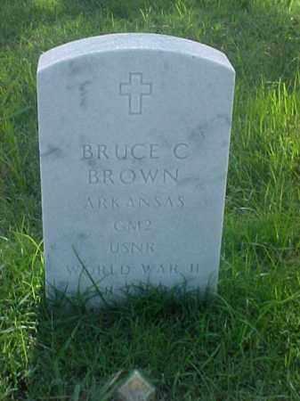 BROWN (VETERAN WWII), BRUCE C - Pulaski County, Arkansas | BRUCE C BROWN (VETERAN WWII) - Arkansas Gravestone Photos
