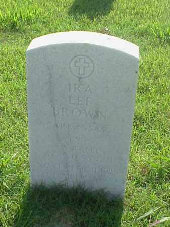 BROWN (VETERAN WWII), IRA LEE - Pulaski County, Arkansas | IRA LEE BROWN (VETERAN WWII) - Arkansas Gravestone Photos