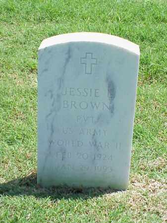 BROWN (VETERAN WWII), JESSIE L - Pulaski County, Arkansas | JESSIE L BROWN (VETERAN WWII) - Arkansas Gravestone Photos