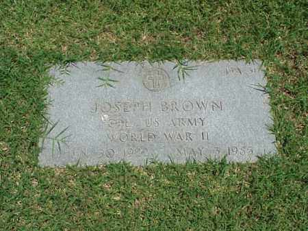 BROWN (VETERAN WWII), JOSEPH - Pulaski County, Arkansas | JOSEPH BROWN (VETERAN WWII) - Arkansas Gravestone Photos