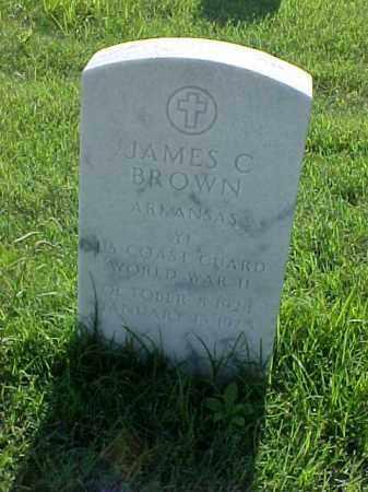 BROWN (VETERAN WWII), JAMES C - Pulaski County, Arkansas | JAMES C BROWN (VETERAN WWII) - Arkansas Gravestone Photos
