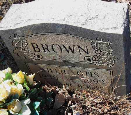 BROWN, WILLIE OTIS - Pulaski County, Arkansas | WILLIE OTIS BROWN - Arkansas Gravestone Photos
