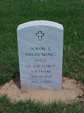BROWNING (VETERAN VIET), JOHN E - Pulaski County, Arkansas | JOHN E BROWNING (VETERAN VIET) - Arkansas Gravestone Photos