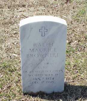 BROWNLEE (VETERAN WWII), RALPH MAURICE - Pulaski County, Arkansas | RALPH MAURICE BROWNLEE (VETERAN WWII) - Arkansas Gravestone Photos