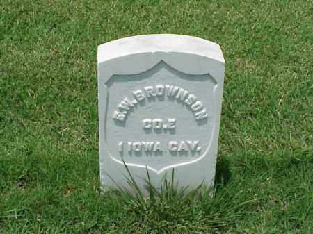 BROWNSON (VETERAN UNION), E W - Pulaski County, Arkansas | E W BROWNSON (VETERAN UNION) - Arkansas Gravestone Photos