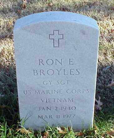 BROYLES (VETERAN VIET), RON E - Pulaski County, Arkansas | RON E BROYLES (VETERAN VIET) - Arkansas Gravestone Photos