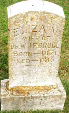 BRUCE, ELIZA V. - Pulaski County, Arkansas | ELIZA V. BRUCE - Arkansas Gravestone Photos