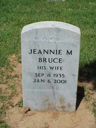 BRUCE, JEANNIE M - Pulaski County, Arkansas | JEANNIE M BRUCE - Arkansas Gravestone Photos