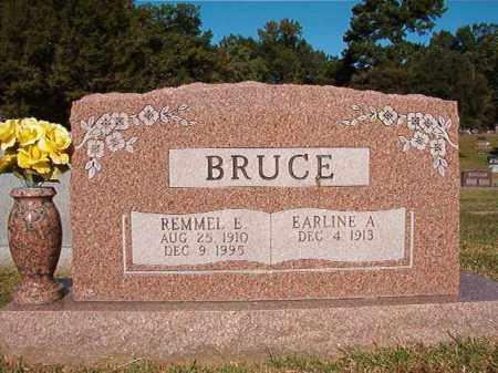 BRUCE, REMMEL E - Pulaski County, Arkansas | REMMEL E BRUCE - Arkansas Gravestone Photos