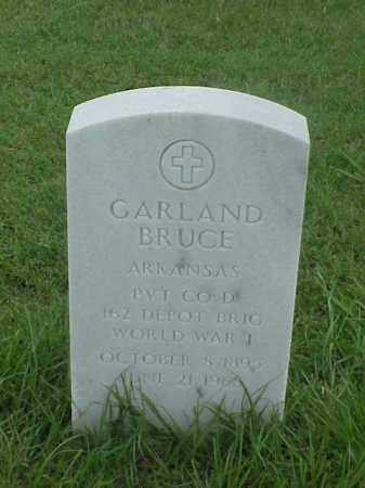 BRUCE (VETERAN WWI), GARLAND - Pulaski County, Arkansas | GARLAND BRUCE (VETERAN WWI) - Arkansas Gravestone Photos