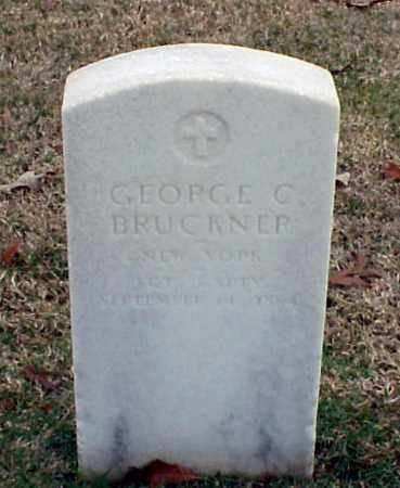 BRUCKNER (VETERAN UNION), GEORGE C - Pulaski County, Arkansas | GEORGE C BRUCKNER (VETERAN UNION) - Arkansas Gravestone Photos