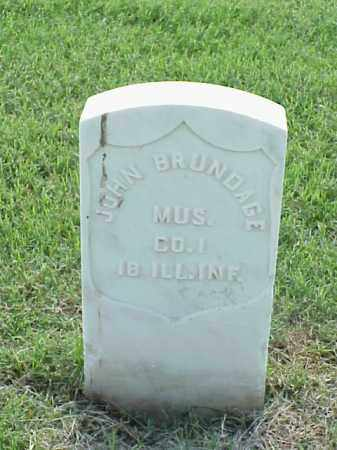BRUNDAGE (VETERAN UNION), JOHN - Pulaski County, Arkansas | JOHN BRUNDAGE (VETERAN UNION) - Arkansas Gravestone Photos