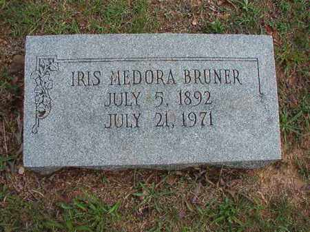 BRUNER, IRIS MEDORA - Pulaski County, Arkansas | IRIS MEDORA BRUNER - Arkansas Gravestone Photos