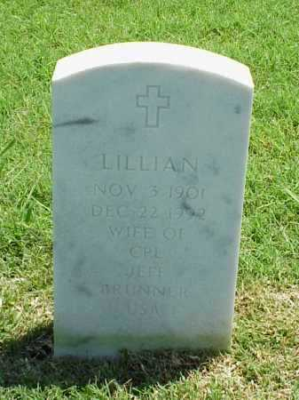 BRUNNER, LILLIAN - Pulaski County, Arkansas | LILLIAN BRUNNER - Arkansas Gravestone Photos