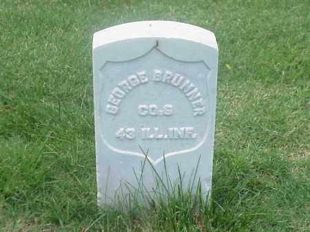 BRUNNER (VETERAN UNION), GEORGE - Pulaski County, Arkansas | GEORGE BRUNNER (VETERAN UNION) - Arkansas Gravestone Photos