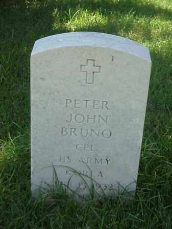 BRUNO (VETERAN KOR), PETER JOHN - Pulaski County, Arkansas | PETER JOHN BRUNO (VETERAN KOR) - Arkansas Gravestone Photos