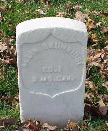 BRUNRIDGE (VETERAN UNION), ALLIN - Pulaski County, Arkansas | ALLIN BRUNRIDGE (VETERAN UNION) - Arkansas Gravestone Photos