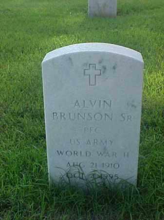 BRUNSON, SR  (VETERAN WWII), ALVIN - Pulaski County, Arkansas | ALVIN BRUNSON, SR  (VETERAN WWII) - Arkansas Gravestone Photos