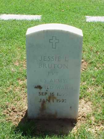 BRUTON (VETERAN WWI), JESSIE L - Pulaski County, Arkansas | JESSIE L BRUTON (VETERAN WWI) - Arkansas Gravestone Photos