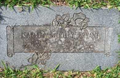 WOOLEY BRYANT, ISABELLA ELENDER - Pulaski County, Arkansas | ISABELLA ELENDER WOOLEY BRYANT - Arkansas Gravestone Photos