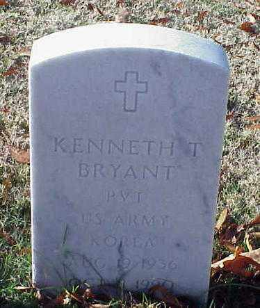 BRYANT (VETERAN KOR), KENNETH T - Pulaski County, Arkansas | KENNETH T BRYANT (VETERAN KOR) - Arkansas Gravestone Photos