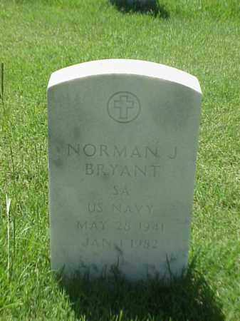 BRYANT (VETERAN), NORMAN J - Pulaski County, Arkansas | NORMAN J BRYANT (VETERAN) - Arkansas Gravestone Photos