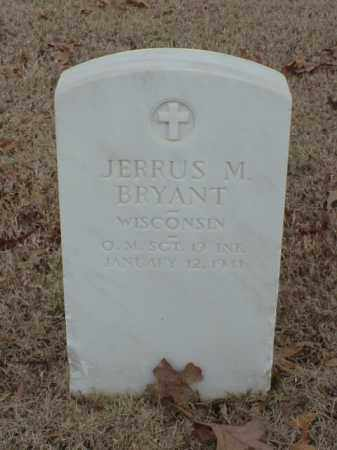 BRYANT (VETERAN UNION), JERRUS M - Pulaski County, Arkansas | JERRUS M BRYANT (VETERAN UNION) - Arkansas Gravestone Photos