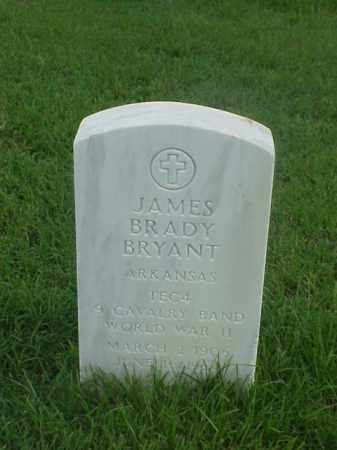 BRYANT (VETERAN WWII), JAMES BRADY - Pulaski County, Arkansas | JAMES BRADY BRYANT (VETERAN WWII) - Arkansas Gravestone Photos
