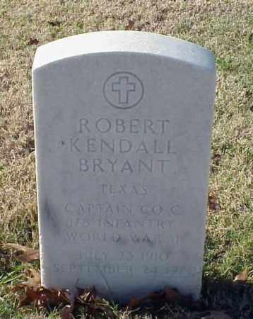 BRYANT (VETERAN WWII), ROBERT KENDALL - Pulaski County, Arkansas | ROBERT KENDALL BRYANT (VETERAN WWII) - Arkansas Gravestone Photos